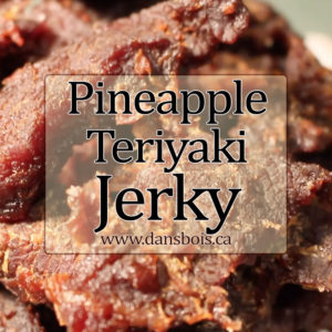 Candied Pineapple Beef Jerky