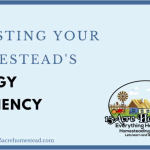 Boosting Your Homesteads Energy Efficiency