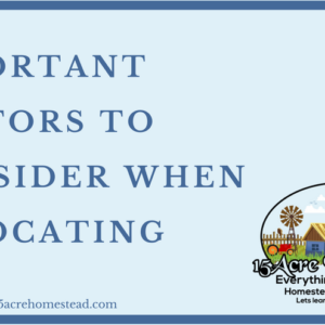 Important Factors To Consider When Relocating