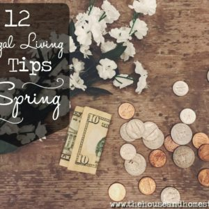 How to Live Frugally this Spring