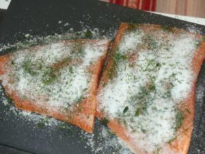 Cure The Salmon Yourself Is Quick And Easy! Recipe