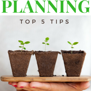 5 Tips for Planning a Garden