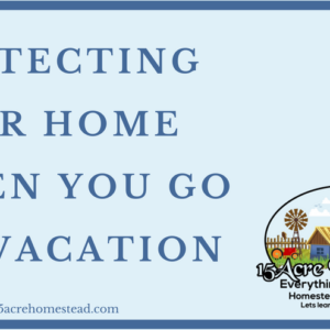 Protecting Your Home When You Go On Vacation