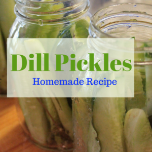 How to Make Homemade Dill Pickles