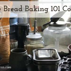 Free Bread Baking 101 Course!