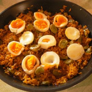 Recipe: Fava Beans with Brown Rice and Fresh Eggs