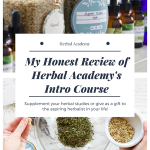 Herbal Academy Review – Introductory Herbalism Course