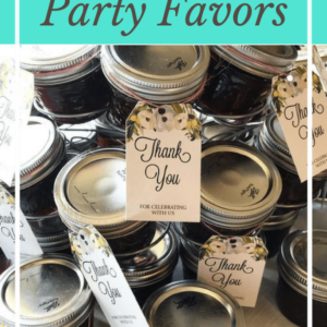 Canning for Party Favors