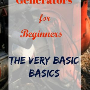 Generator Basics for Absolute Beginners