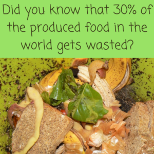 Don't Waste Food, For A More Sustainable Household.