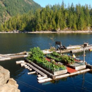 Float Gardening In British Columbia
